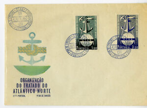 Portugal-Stamps-747-8-Europa-Forerunner-First-Day-Cover