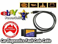 Elm327 Usb To Vag-com Car Diagnostics Cable - Stock In Australia