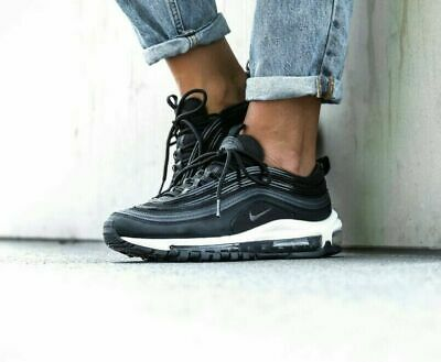 Nike Air Max 97 LX Overbranded Women's Shoe Size 7 (Black