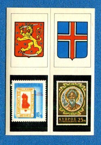 83+251+5+111 -STEMMA-STAMPS-New Super Raf 1974 EUROPA Figurina-Sticker n