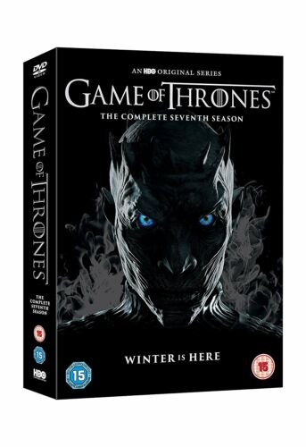 1 of 1 - Game Of Thrones Season 7 The Complete Seventh 7th Series[DVD + Conquest & Rebel]
