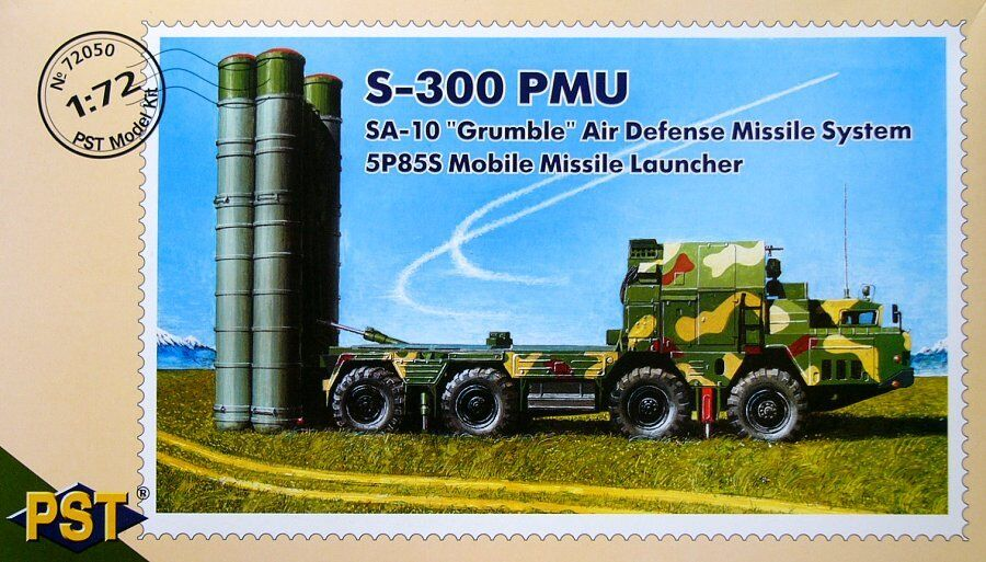 PST 1 72 S-300 PMU SA-10 Grumble Air Defence Missile System 5P85