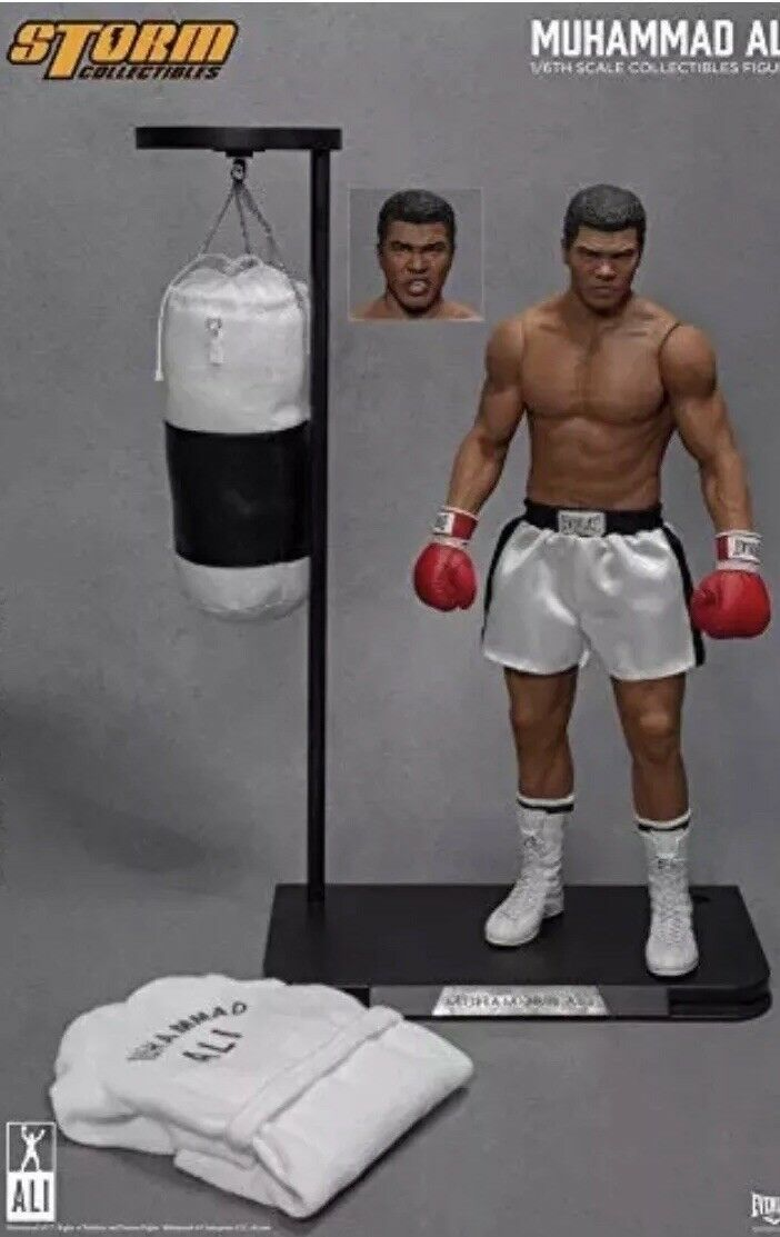 Storm Collectibles 1/6 Muhammad Ali Heavyweight champion The greatest New In Box