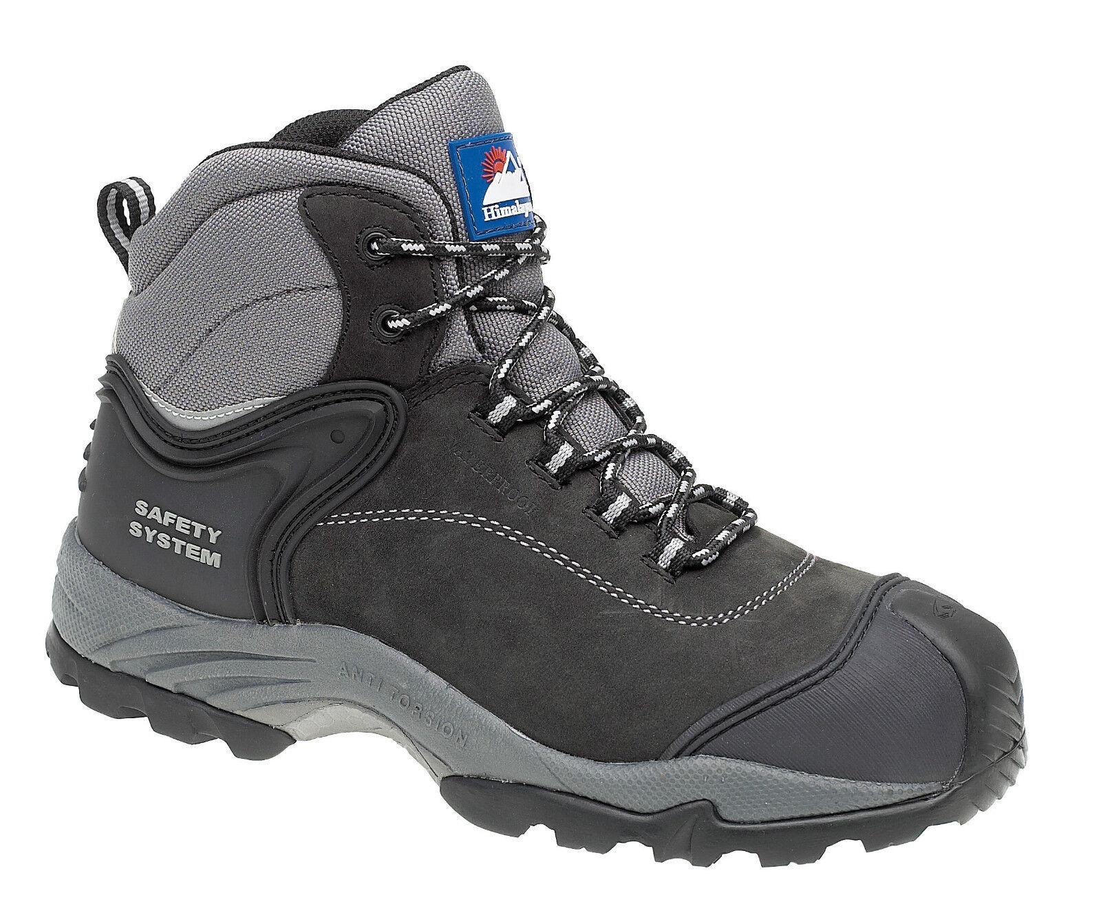 Himalayan 4103 s3 SRC NERO COMPOSITO Punta in Metallo Libero Impermeabile Stivali di sicurezza