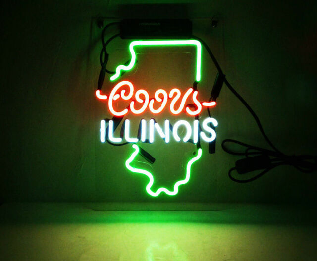 "New Coors Light OREGON Neon Light Sign Lamp Beer Pub Acrylic 14/"""