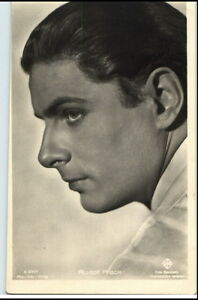 1950-60-Portraet-AK-Film-Buehne-Theater-Schauspieler-RUDOLF-PRACK-Foto-Verlag