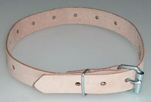 2 Leder-Riemen schwarz Rollschnalle 3,0 x 50,0 cm Lederriemen Fixierungsriemen