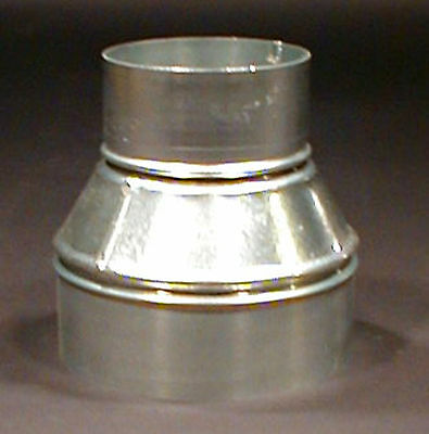 """6"""" x 3"""" Sheet Metal Taper Reducer Dust Collectors Duct"""