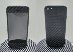 iPhone-5-3M-Di-Noc-Black-Carbon-Fiber-Vinyl-Full-Body-Skin-sticker-For-i5
