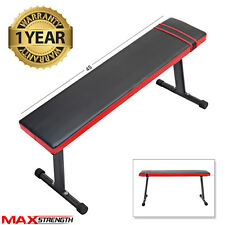 MAXSTRENGTH Abdominal Ab Bench Crunch Sit Up Training Gym Weight Flat Board