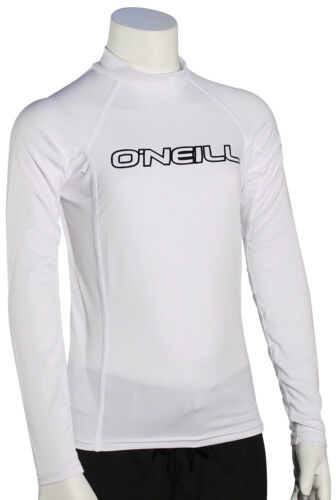 White New O/'Neill Kid/'s Basic Skins LS Rash Guard