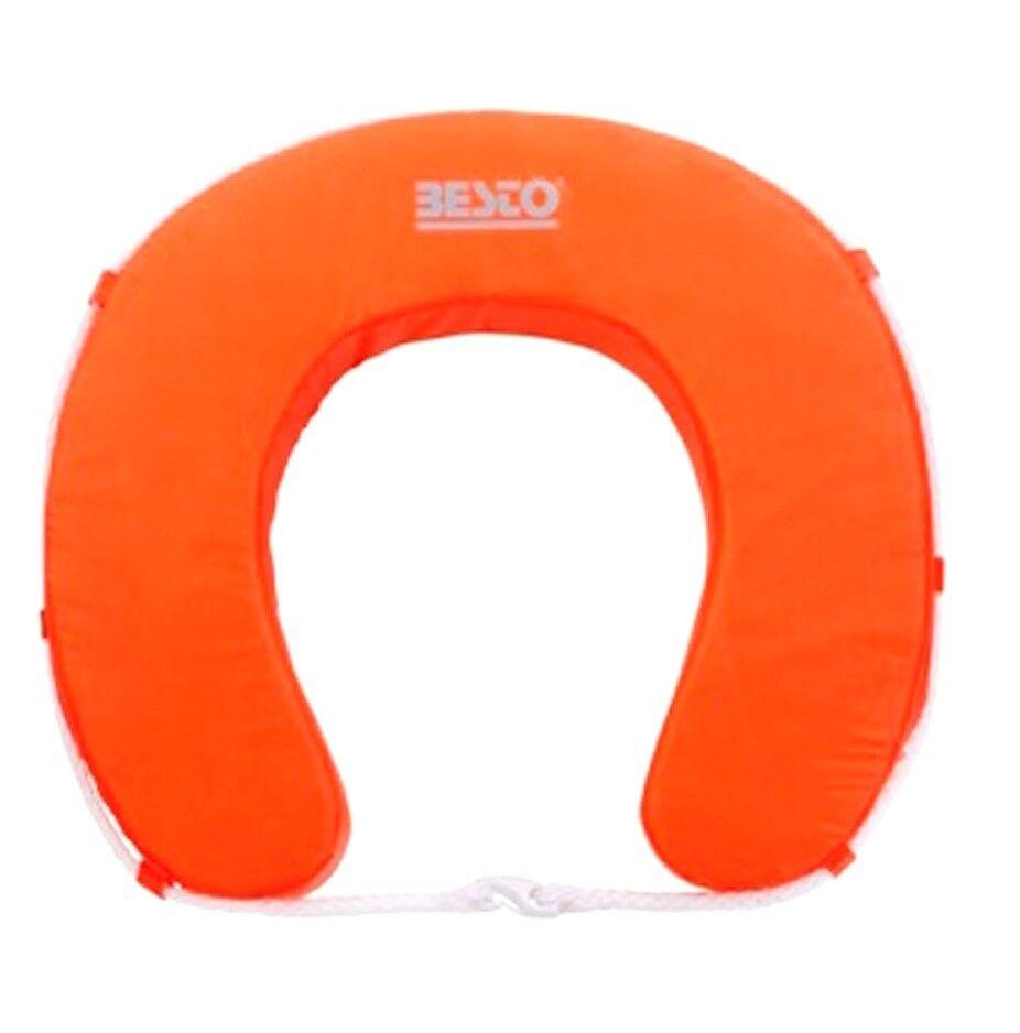 Besto Rescure Horse shoes buoy orange