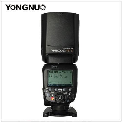 YONGNUO YN600EX-RT 2.4G Wireless HSS 1//8000s TTL Flash Speedlite for Canon DSLR