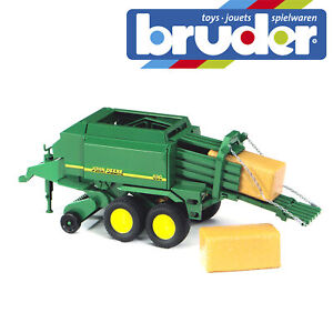 Bruder-John-Deere-Farming-Big-Balepress-Kids-Childrens-Farm-Toy-Model-Scale-1-16