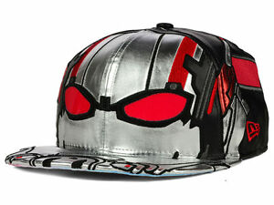 1b465290182 Ant-Man Character Armor Men s Marvel Comics New Era 59fifty Fitted ...