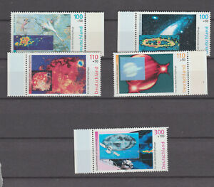Germany 1999 Charity Stamps - Space mnh