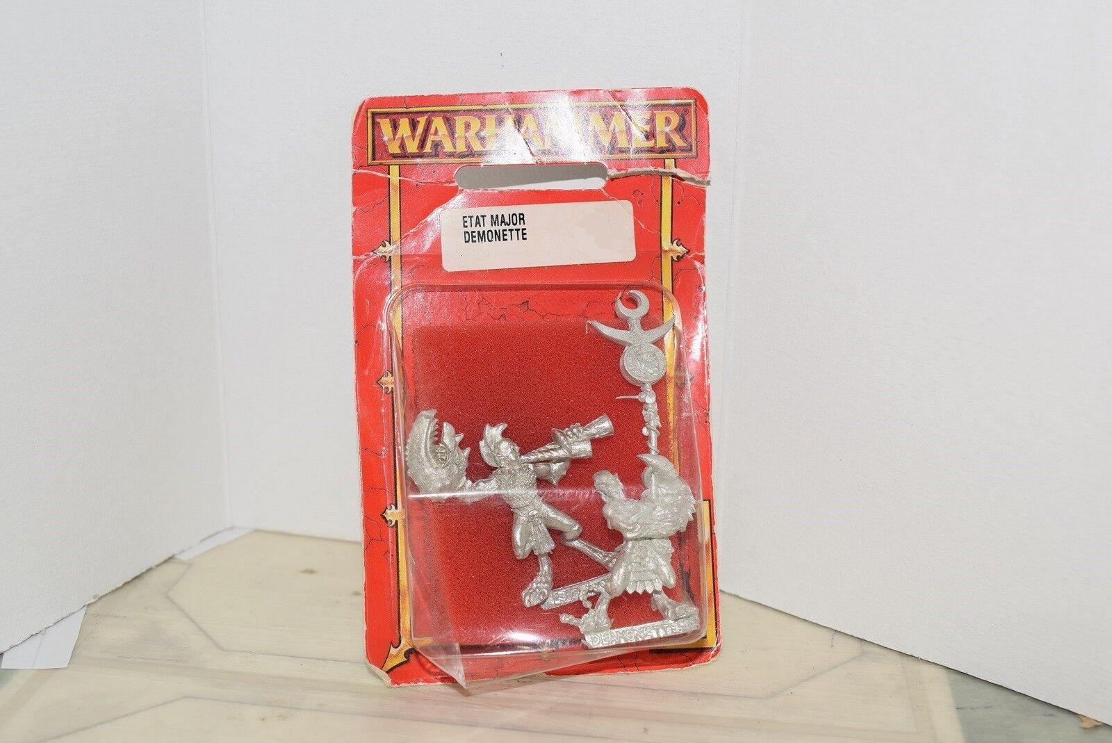 Warhammer Chaos Daemon Daemonette Musician & Standard (OOP, 5th Edition)
