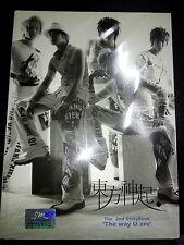 Dong Bang Shin Ki 2nd Story Book The Way U Are CD VCD Photobook TVXQ DBSK JYJ
