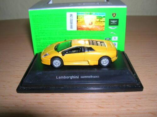 embalaje original Welly Lamborghini Murcielago amarillo Yellow 1:87 h0 nuevo