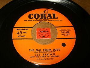 LES-BROWN-THE-GAL-FROM-JOE-039-S-SENTIMENTAL-TRAIN-LISTEN-JAZZ-POPCORN