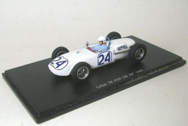 Lotus 18 no. 24 Jim Hall Hall Hall US GP 1960 635398