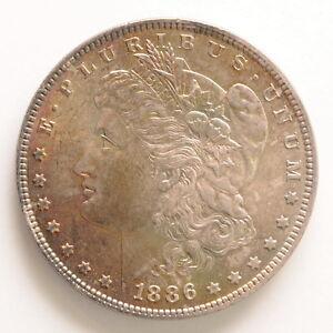1886 Us Mint Morgan 1 One Silver Dollar Coin Ebay