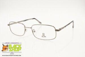 Lancetti Ll186 153 Eyeglass Frame Rectangular Wide, Gunmetal Coated Metal, Nos PosséDer Des Saveurs Chinoises