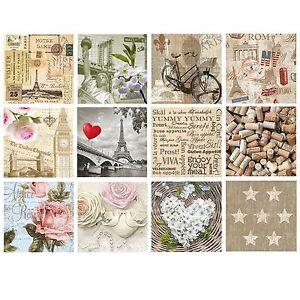 image is loading 20 pck vintage decorative paper napkins decoupage craft - Decorative Paper Napkins