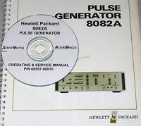 Hp 8082a Pulse Generator Operating & Service Manual
