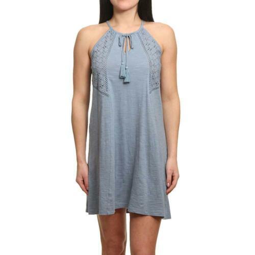 Roxy Enchanted Island Dress Blue Shadow Roxy Women/'s Clothing Dresses
