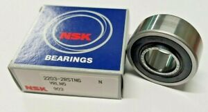 NSK 2203-2RSTNG Double Row Self Aligning Bearing 17X40X16mm