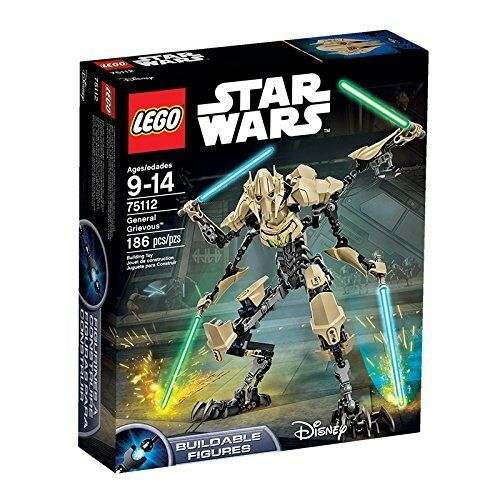 LEGO Star Wars Building Double Figure General Grievous 75112 NEW from Japan