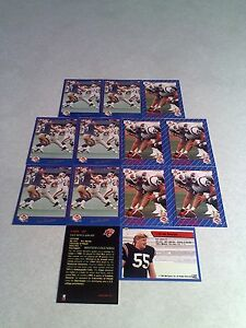 Ian-Sinclair-Lot-of-21-cards-3-DIFFERENT-Football-CFL