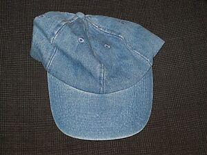 Fashionable Unisexramones Vintage Jeans Baseball Cap Cotton Cowboy Hat