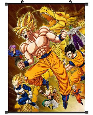 "Hot Japan Anime Dragon Ball Z Son Goku Home Decor Poster Wall Scroll 8/""x12/"" P12"