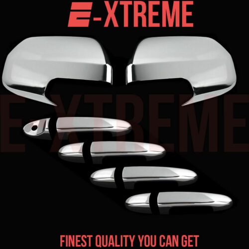 FOR MAZDA 08-10 TRIBUTE 4DRS HANDLE W//O PSKH+2PC FULL MIRROR CHROME COVERS