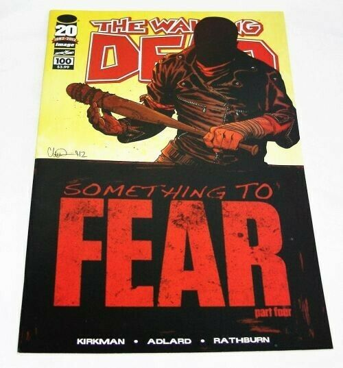 THE WALKING DEAD #100 (A) NM (1ST PRINT 2003) FIRST APPEARANCE OF NEGAN, LUCILLE AND DEATH OF GLEN