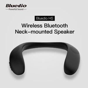 Neck-mounted bluetooth speaker Bluedio HS wireless speaker support FM radio SD