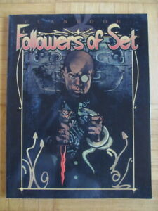 Vampire The Masquerade – Clanbook Followers of Set (new edition 2001) - Sourcebo