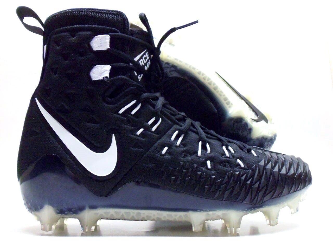 NIKE FORCE SAVAGE ELITE TD FOOTBALL CLEAT BLACK/WHITE Price reduction Seasonal clearance sale