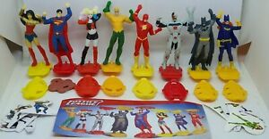 Kinder-2019-Justice-League-DV412-DV419-compl-set-with-all-Bpz