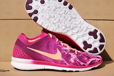 NEW-Nike Free 5.0 TR Fit 5 Print Woman's Running/Cross Training Shoes Sz. 9