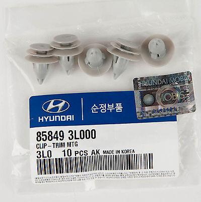 Right Genuine Hyundai 85730-3L000-LK Luggage Trim Assembly