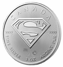 Superman Silver 1 oz Coin Royal Canadian Mint | S-Shield