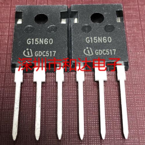 5 x G15N60 SGW15N60 Fast IGBT TO-247 600V 15A