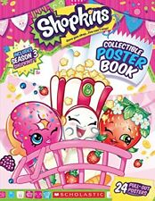 Shopkins: Collectable Poster Book (2015, Paperback)