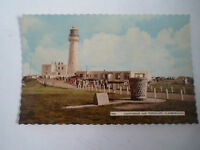 Vintage Colour Postcard 7606 Lighthouse + Toposcope Flamborough Hand Dated 1961