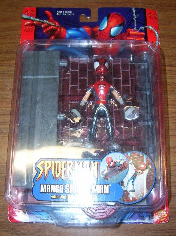 Spider - Man Comics trepando parojoes juguete de acción Beech McFarland 2002