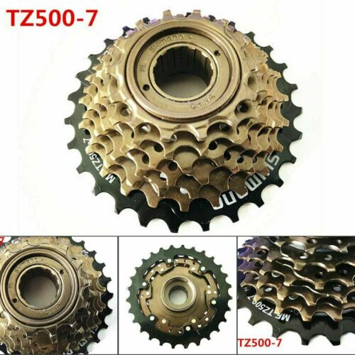 MF-TZ500-7 SHIMANO MTB 7-Speed Threaded Freewheel For Mountail Bike 14-28T
