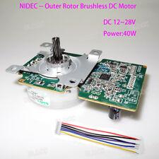 Nidec 42m308f Dc 24v Outer Rotor Brushless Dc Motor For Fan Air Purifier Printer